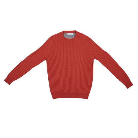 Bernard Cashmere Sweater // Orange (Euro: 46)