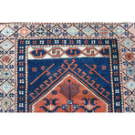 "Caucasus Prayer Rug // Hand Knotted Circa 1970 // 5'3""L x 2'10""W"