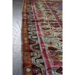 "Turkish Prayer Rug // Hand Knotted Circa 1920 // 4'11""L x 3'5""W"