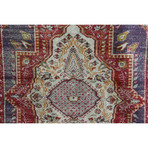 "Oushak Rug // Hand Knotted Circa 1920 // 6'6""L x 4'7""W"