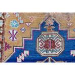 "Kurdish Rug // Hand Knotted Circa 1900 // 8'9""L x 5'3""W"
