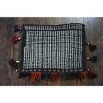"""Baluch Bag // Hand Knotted Circa 1950 // 1'5""""L x 1'10""""W"""