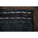 """Baluch Bag // Hand Knotted Circa 1960 // 1'5""""L x 1'4""""W"""