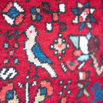 """Abadeh // Hand Knotted Circa 1980 // 6'10""""L x 4'11""""W"""