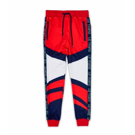 Abington Track Pant // Red (S)