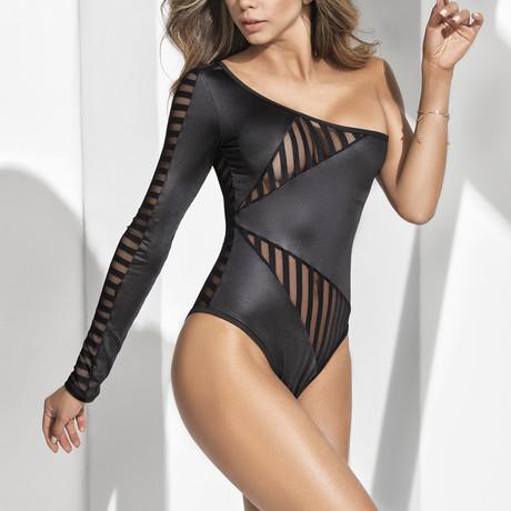 Shawna Bodysuit // Black (S)