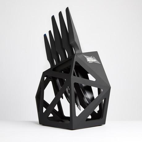 Primal Chef Knife Set // 5 Piece Set + Knife Block