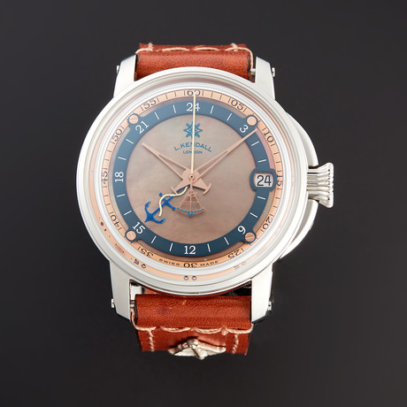 L. Kendall GMT Automatic // K9-002-SS