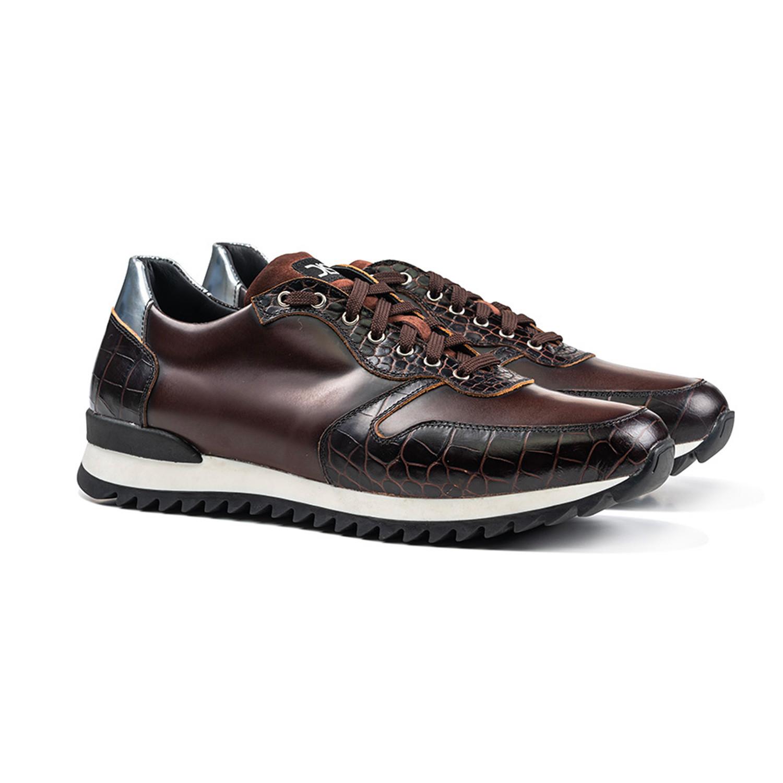 Italo Low Top Running Sneaker Coffee (Euro: 46) DIS
