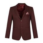 Calvin Blazer Jacket // Dark Bordeaux (L)