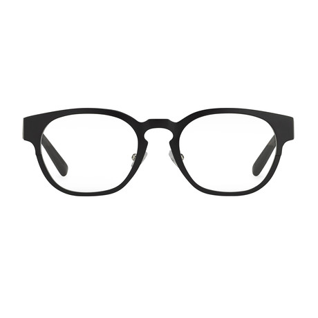 Unisex PL60C4OPT Optical Frames // Black Aluminum + Frosted Tortoise Shell