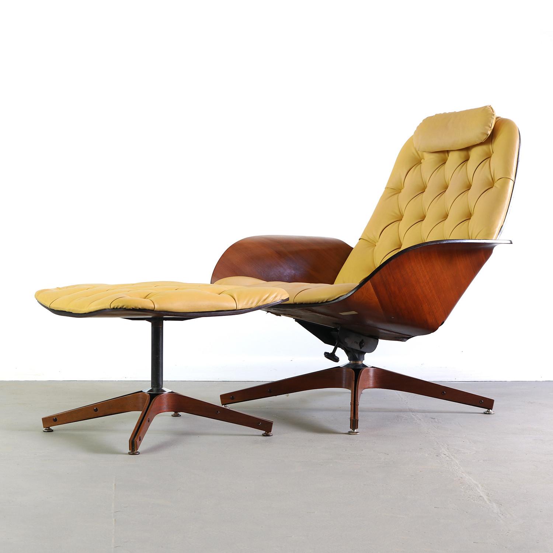 Superb Plycraft Mr Chair Lounge Chair Ottoman George Ibusinesslaw Wood Chair Design Ideas Ibusinesslaworg