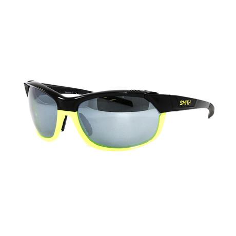 Smith // Men's Overdrive N Sunglasses // Black Neon + Gray Mirror