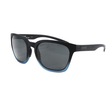 Smith // Men's Polarized Founder Sunglasses // Matte Black + Corsair