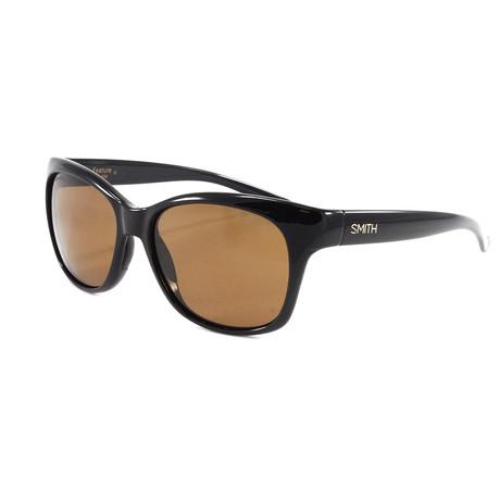 Smith // Women's Polarized Feature Sunglasses // Black
