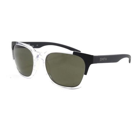 Smith // Men's Polarized Founder Sunglasses // Crystal Black