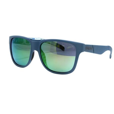 Smith // Men's Lowdown XLS Sunglasses // Blue + Green Mirror