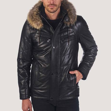 Rober Leather Jacket // Black (S)