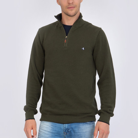 Visible Pullover // Khaki + Anthracite (S)