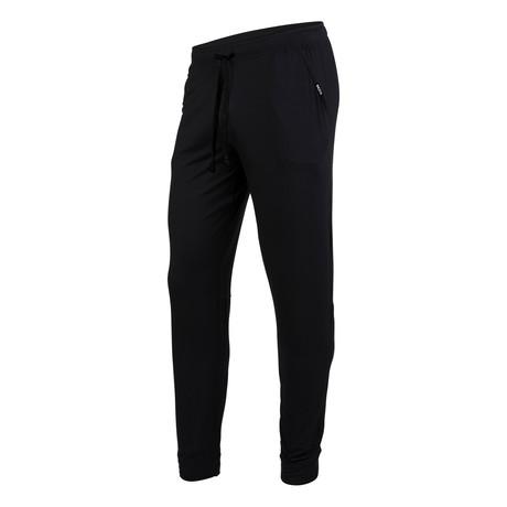 Long PJ Pants // Black (XS)