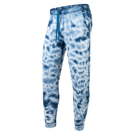 Long PJ Pants // Shibori Teal (S)