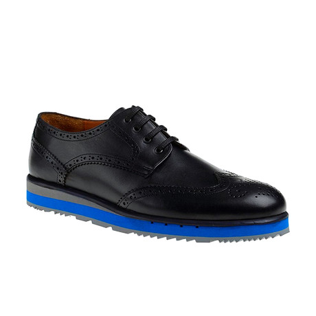 Rafael Modern Shoe // Black + Blue (Euro: 39)