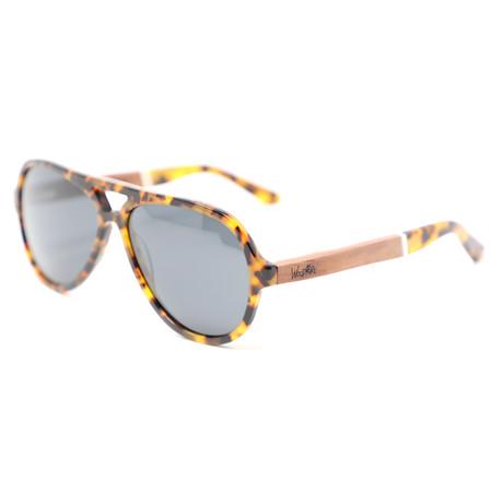 Maverick Polarized Sunglasses // Red