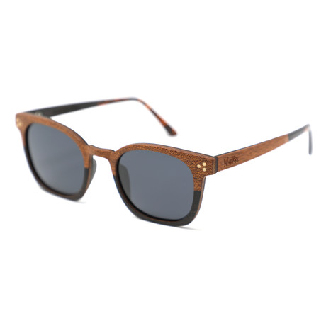Casanova Polarized Sunglasses // Wood