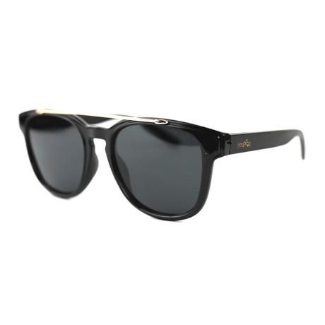 Minorca Polarized Sunglasses // Black