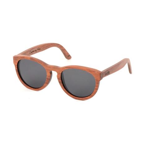 Ostrich Polarized Sunglasses // Red
