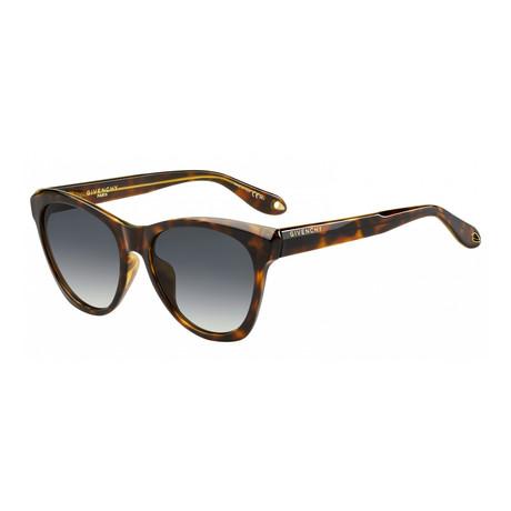 Givenchy // Women's Cat-Eye Sunglasses // Dark Havana + Dark Gray Gradient