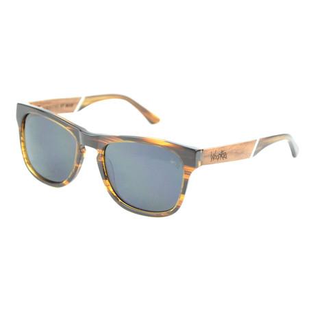 Bond Polarized Sunglasses // Woodgrain