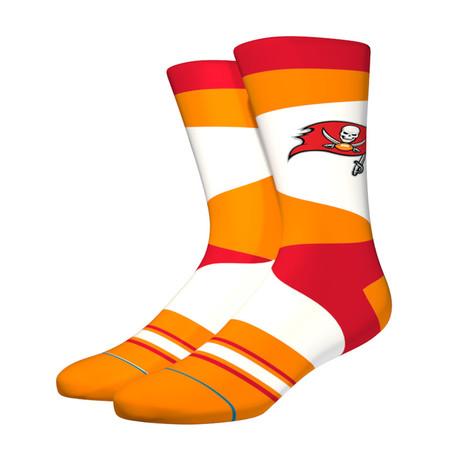 Bucs Retro Socks // Orange (M)