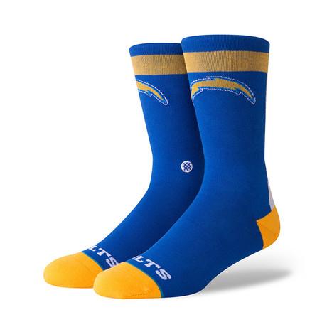Go Bolts Socks // Blue (M)