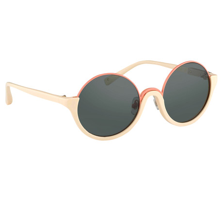 Women's PL70C3 Sunglasses // Bone + Gold + Blue
