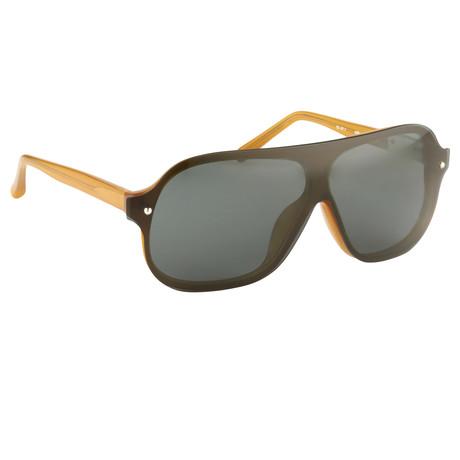 Men's PL2C5 Sunglasses // Brown