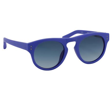 Unisex Pl10C6SUN Sunglasses // Frosted Denim