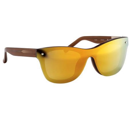 Men's PL34C4 Sunglasses // Mahogany