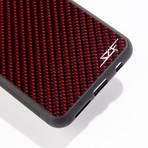 Red Carbon Fiber Phone Case // CLASSIC Series (iPhone X/XS)