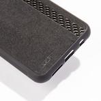 Alcantara + Real Carbon Fiber Case // CLASSIC Series (iPhone X/XS)