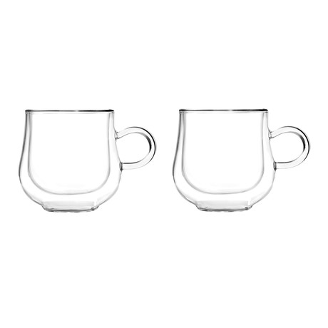 Bolla 2-Piece Double-Wall Cups Set