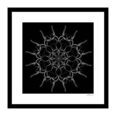 """Grand Finale Human Kaleidoscope Framed Wall Art (16""""W x 16""""H x 1""""D)"""