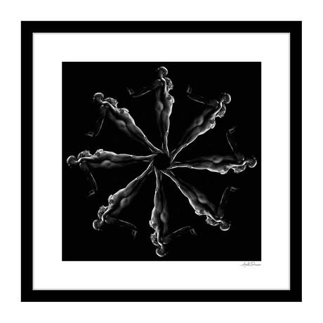 """Balance Human Kaleidoscope Framed Wall Art (16""""W x 16""""H x 1""""D)"""
