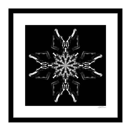 """The Second Human Kaleidoscope Framed Wall Art (16""""W x 16""""H x 1""""D)"""