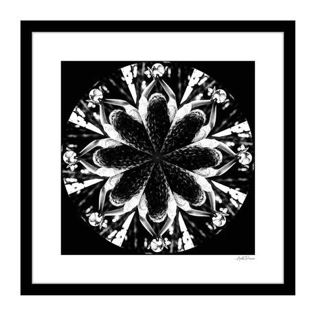 """Inward Human Kaleidoscope Framed Wall Art (16""""W x 16""""H x 1""""D)"""