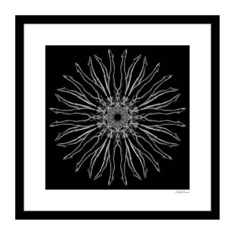 """Assemblé Human Kaleidoscope Framed Wall Art (16""""W x 16""""H x 1""""D)"""