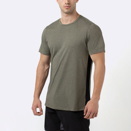 Trace T-Shirt // Olive (S)