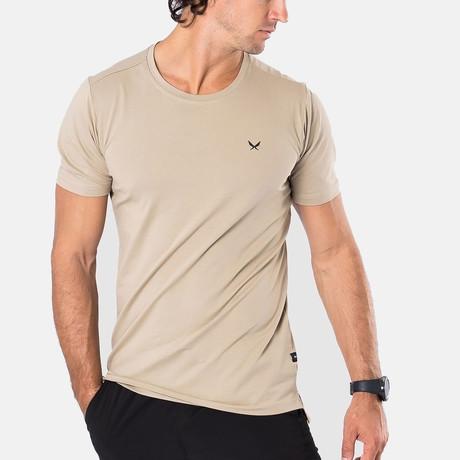 Fundamental T-Shirt // Khaki (S)