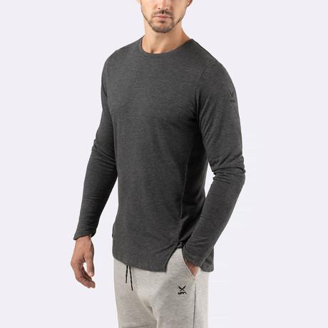 Wayfarer Long-Sleeve T-Shirt // Charcoal (S)