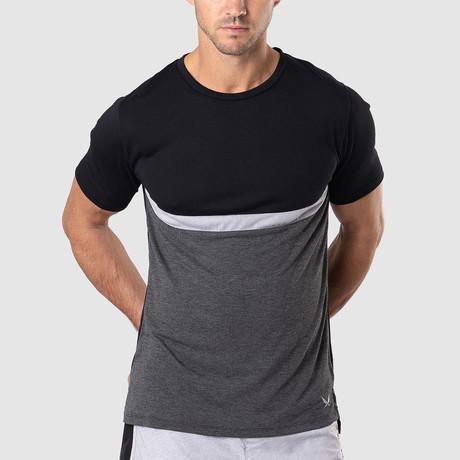 Uppercut T-Shirt // Black + Gray (S)